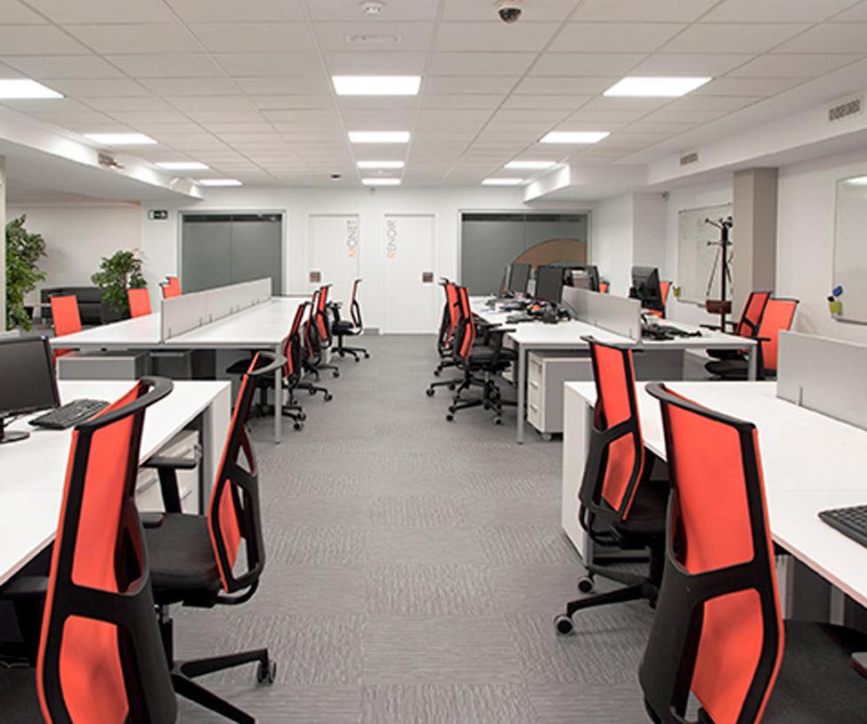 Empresa de formaci n mobiliario ergon mico para oficinas for Empresas de mobiliario de oficina