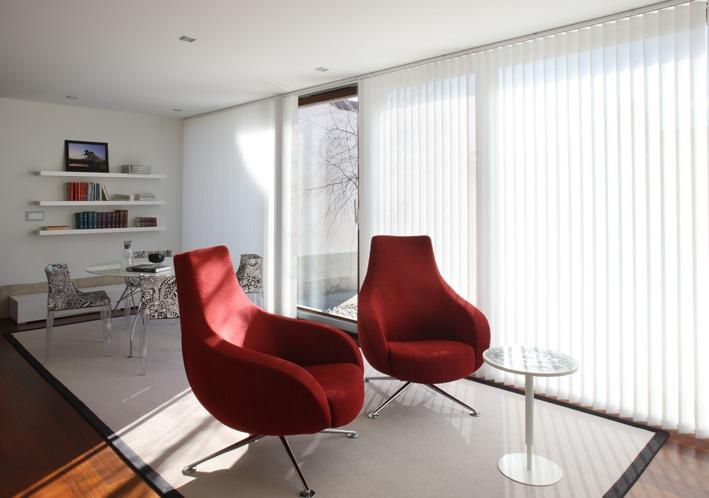 Cortinas estores y persianas funcionales para oficinas mobiliario de oficina - Cortinas verticales para oficinas ...