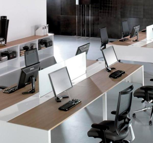 equipamiento integral de oficinas y espacios profesionales