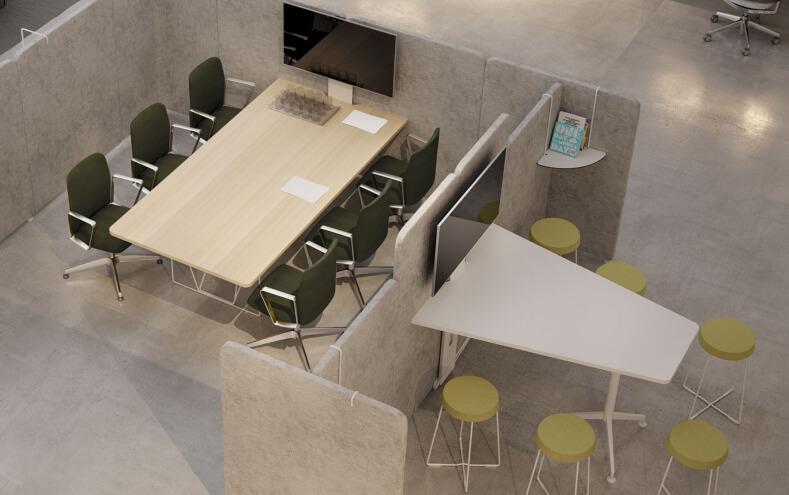 7 formas de hacer que su oficina sea más flexible y optimizar el espacio
