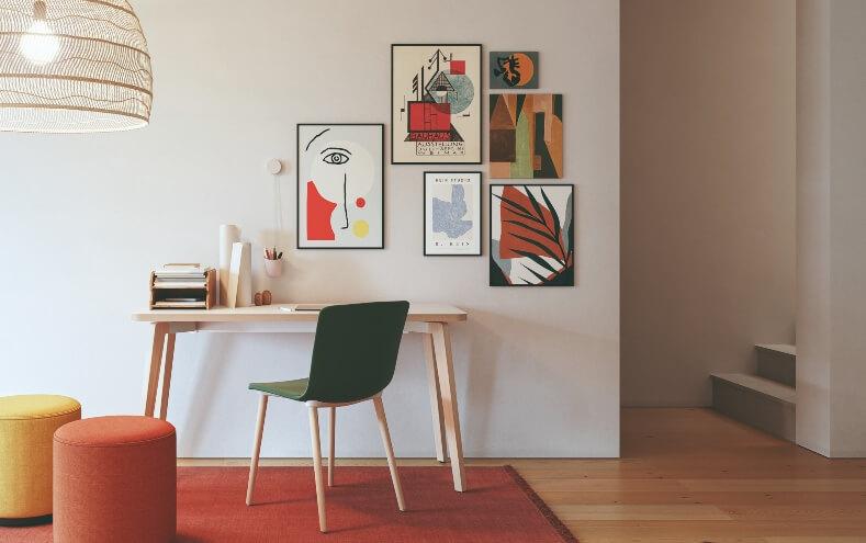 Cómo decorar una oficina pequeña en la nueva realidad