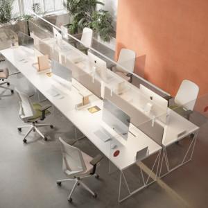 Las pantallas y las mamparas son la solución para que las oficinas tradicionales puedan seguir con su desempeño habitual preservando la salud y la higiene